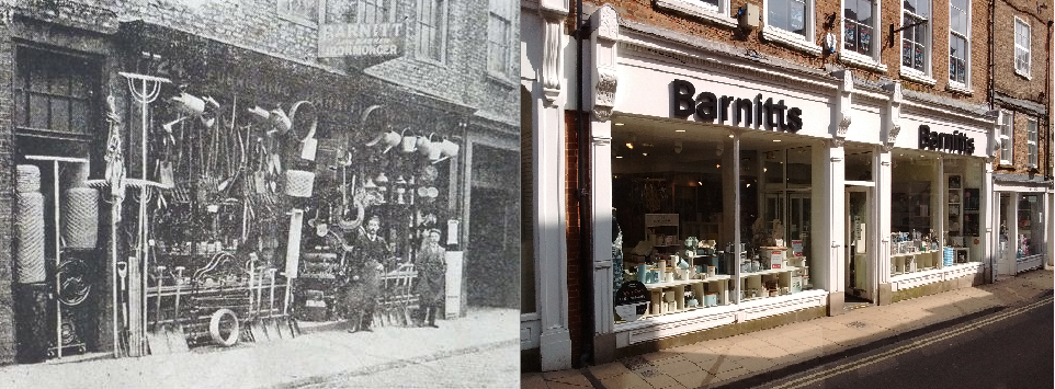 Same part of shop - then & now!