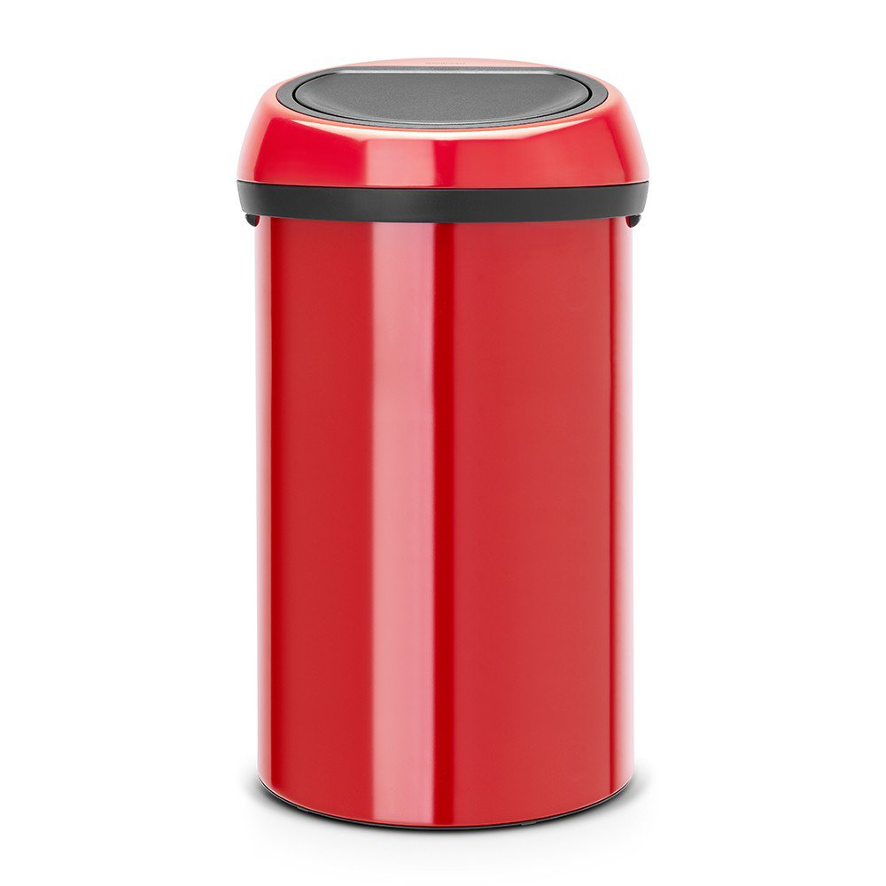 Brabantia Touch Bin 50 Liter Wit.Brabantia 60 Litre Touch Bin In Passion Red At Barnitts Online Store
