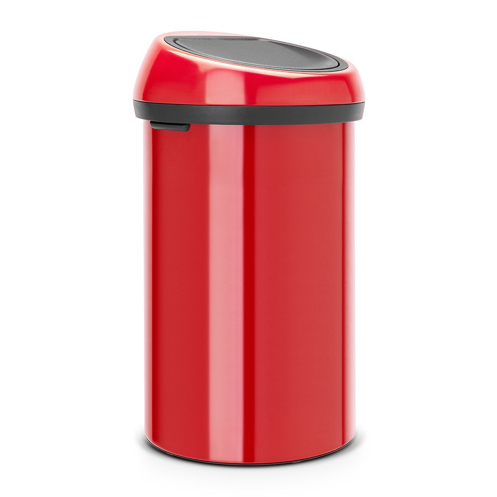 brabantia 60 litre touch bin in passion red at barnitts. Black Bedroom Furniture Sets. Home Design Ideas
