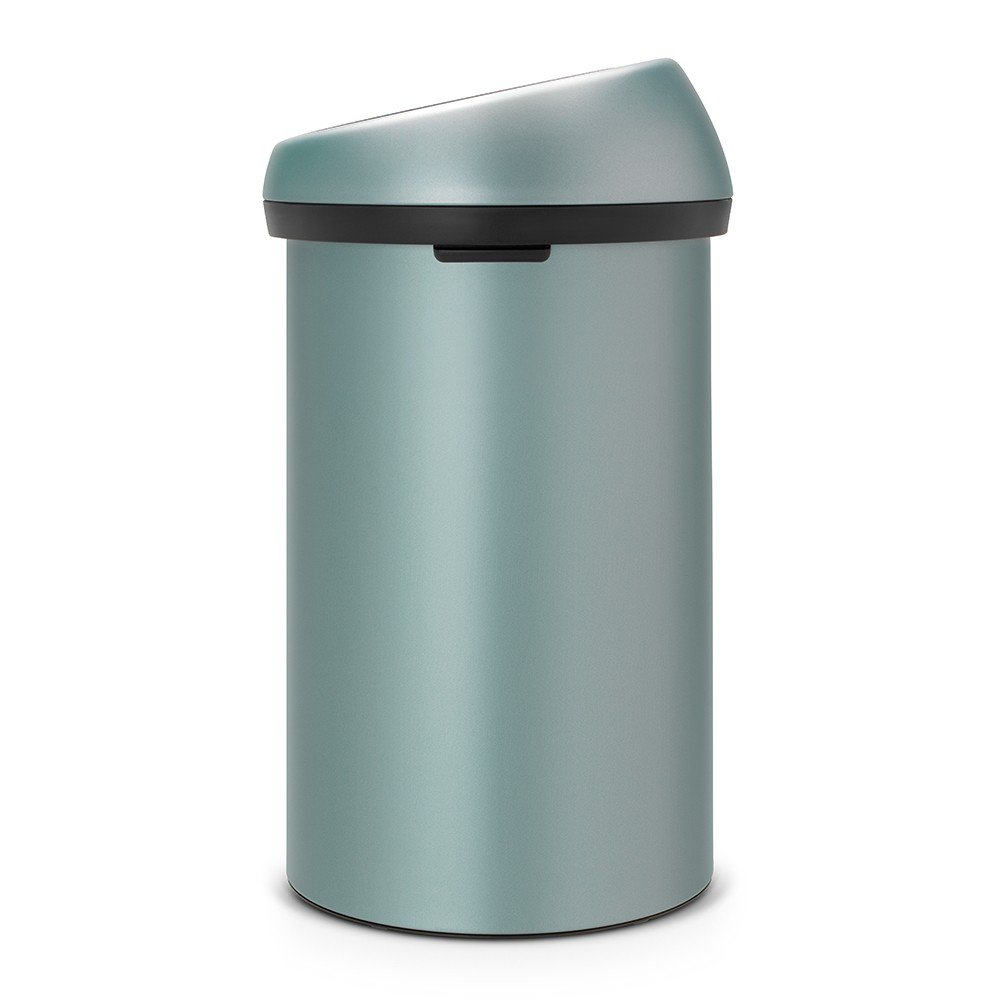 brabantia 60 litre touch bin in metallic mint at barnitts. Black Bedroom Furniture Sets. Home Design Ideas
