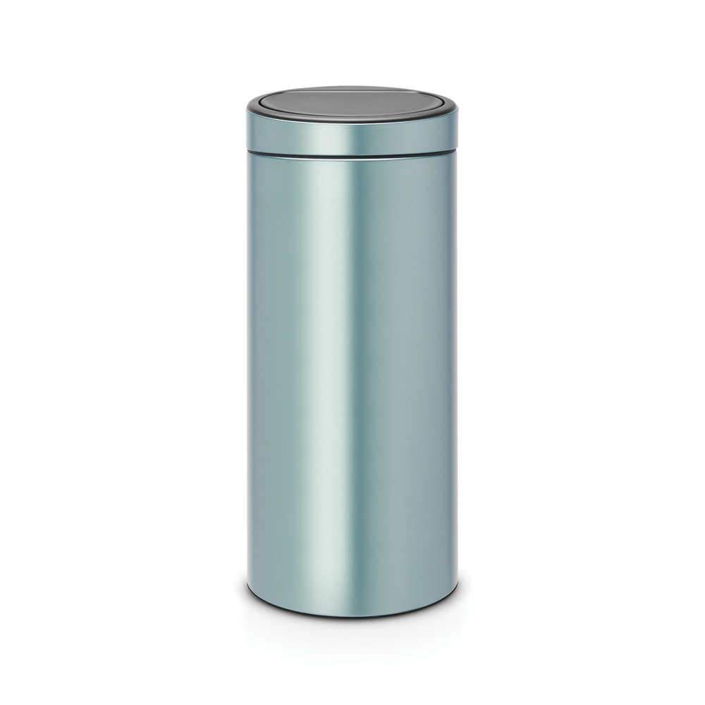 Brabantia Touch Bin 30 Litre Metallic Mint At Barnitts