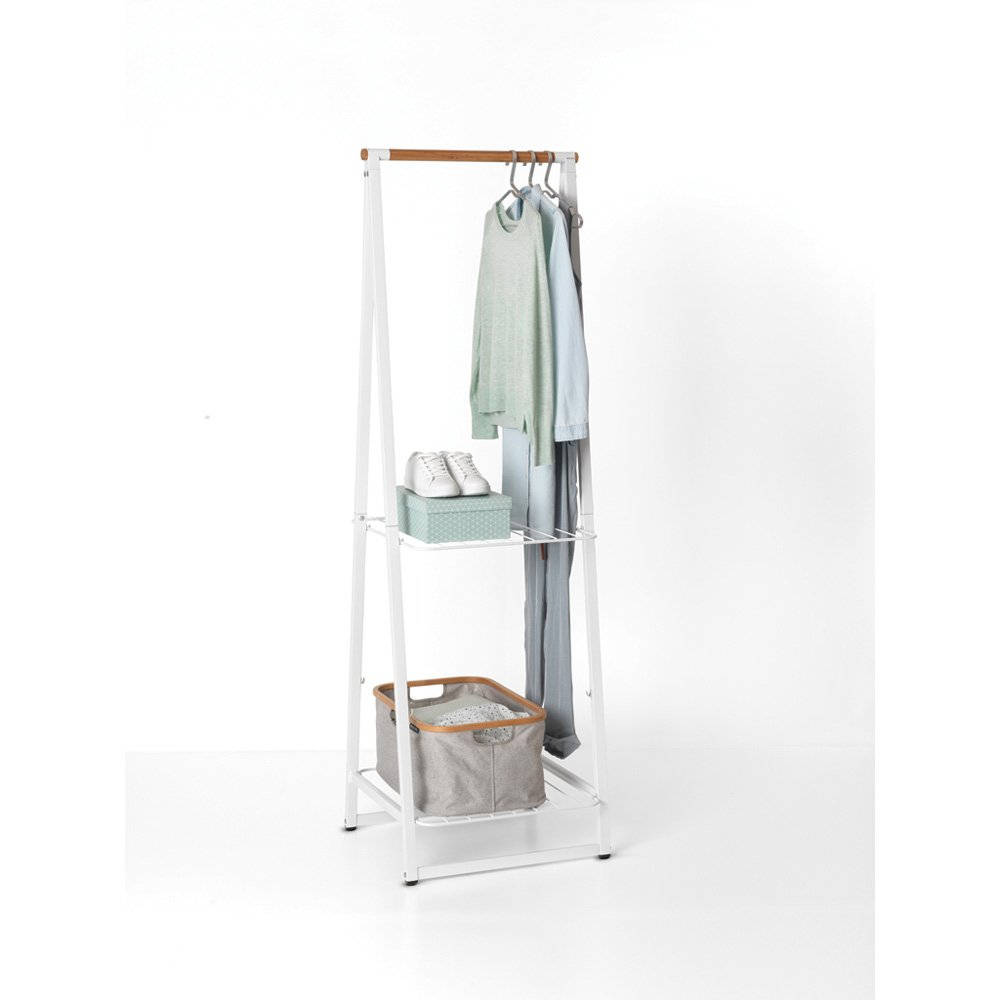 Brabantia linn small clothes rack in white
