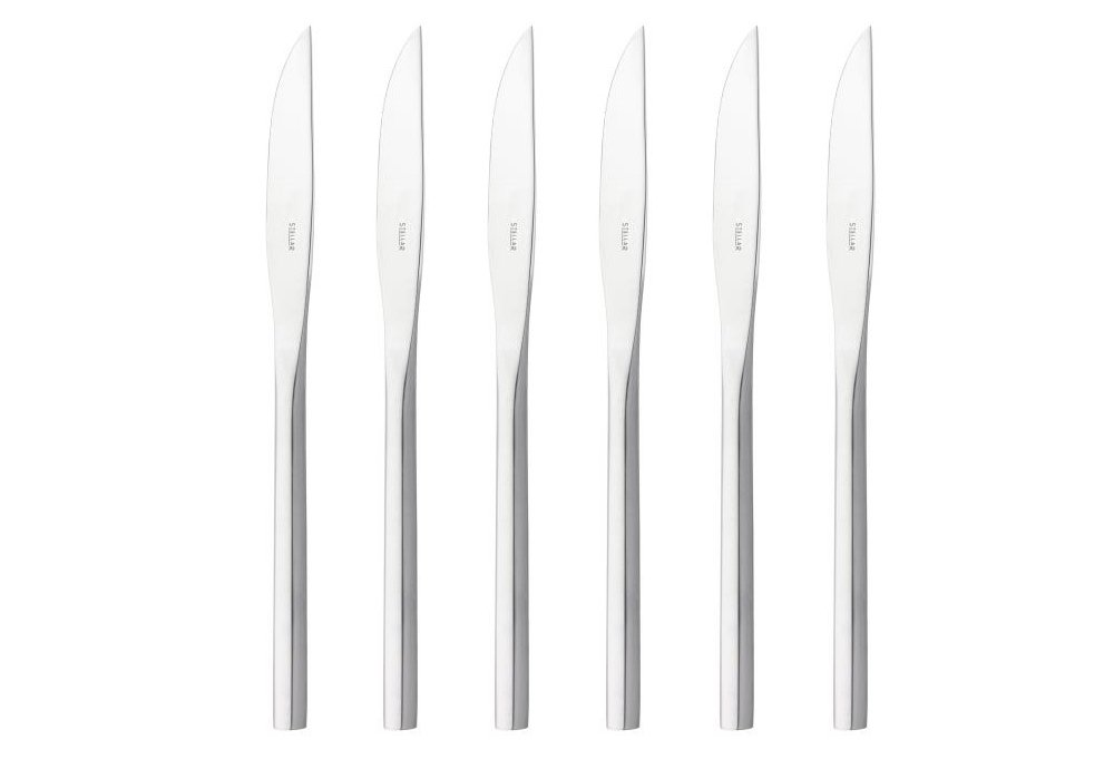 Stellar Cutlery Rochester Steak Knives Set Of 6 At