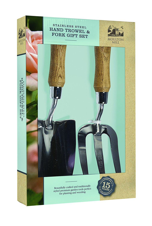 Moulton mill trowel and fork gift set at barnitts online for Garden trowel and fork set