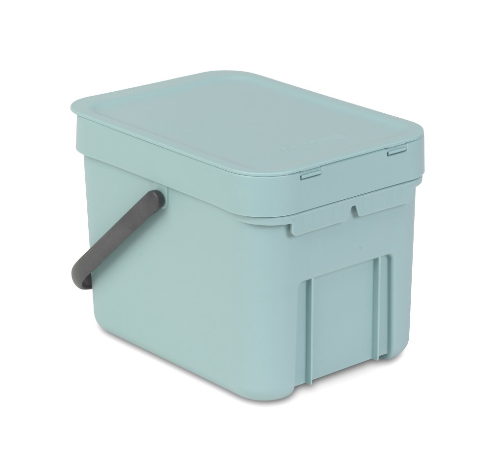 Brabantia Sort & Go 6 Litre Waste Bin in Mint at Barnitts Online ...
