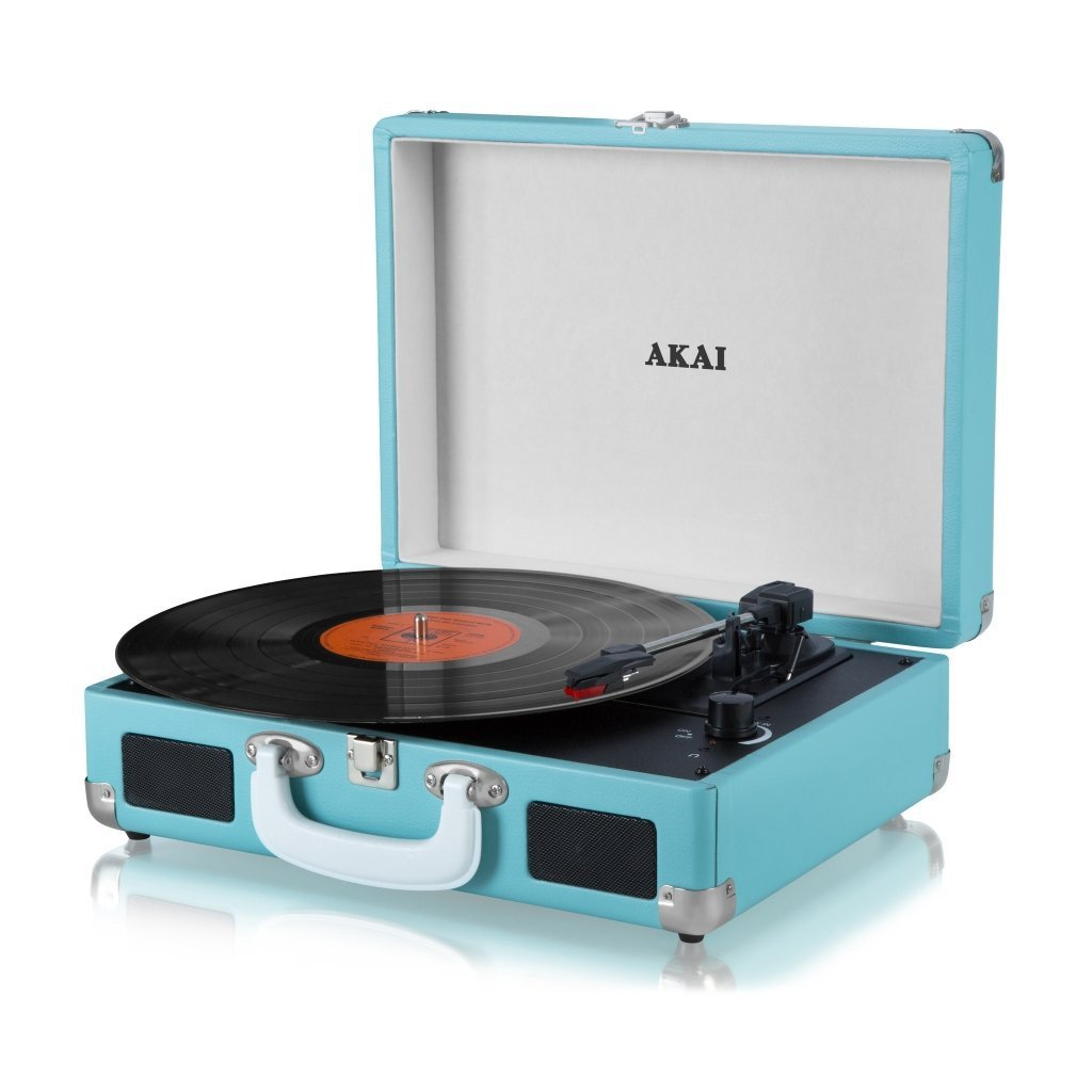 Akai Retro 60 S Premium Leather Suitcase Style Record