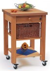 Hungerford Trolleys The Lambourn Single Drawer Kitchen Trolley