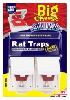 STV Big Cheese Ultra Power Rat Traps, Pack of 2