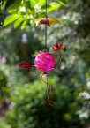 Smart Garden Hangers On Bouncy Flamingo