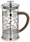 Café Olé Floral 8 Cup Chrome Plated Cafetiere
