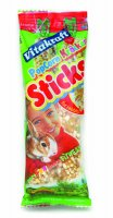 Vitakraft Rabbit Sticks - Popcorn Sticks 2pack
