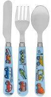 Lesser & Pavey Little Stars Vehicle Cutlery