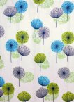 Blue Canyon Dandelion Shower Curtain Multicoloured