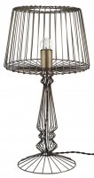 Pacific Lifestyle Indi Antique Brass Open Wire Table Lamp