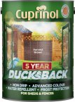 Cuprinol 5 Year Ducksback Harvest Brown 5 Litre