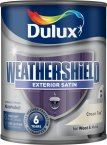 Dulux Weathershield Satin Cream Tea 750ml