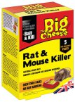 STV The Big Cheese Rat and Mouse Killer 200g STV144