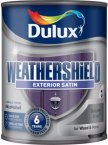 Dulux Weathershield Exterior Satin Gallant Grey 750ml