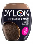 Dylon All-In-1 Fabric Dye Pod in Espresso Brown