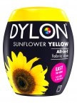 Dylon All-In-1 Fabric Dye Pod in Sunflower Yellow
