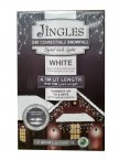 Jingles 240 Connectable LED Snowfall Icicle Lights - White