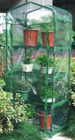 Green Blade 4 Tier Cold Frame / Mini Greenhouse