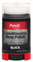 Punch Conditioning Shoe Polish Black 40ml