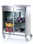 Hahn DHO Double Steel Cook Stainless Steel Kitchen Trolley