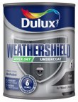Dulux Weathershield Undercoat Dark Grey 750ml