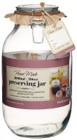 Home Made Traditional Glass Preserving Jar 3lt (106oz)
