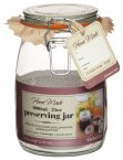 Home Made Traditional Glass Preserving Jar 1000ml (35oz)