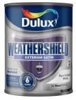 Dulux Weathershield Satin Pure Brilliant White 750ml