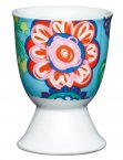 KitchenCraft Porcelain Egg Cup Bright Flower Design