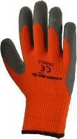 Green Jem High Visibility Winter Work Gloves - Orange Small