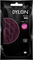 Dylon Fabric Dye for Hand Use - Plum Red