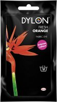 Dylon Fabric Dye for Hand Use - Fresh Orange