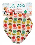 Rex Mid Century Poppy Bicycle Seat Cover