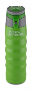 Pioneer Vacuum Insulated Sports Flask Green 480ml