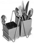 Premier Stainless Steel Cutlery Caddy