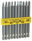 C.K Screwdriver Bit Set (100mm) Mixed Set of 10