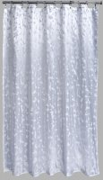 Aqualona Polyester Shower Curtain 180x180cm Vineleaf Metallic