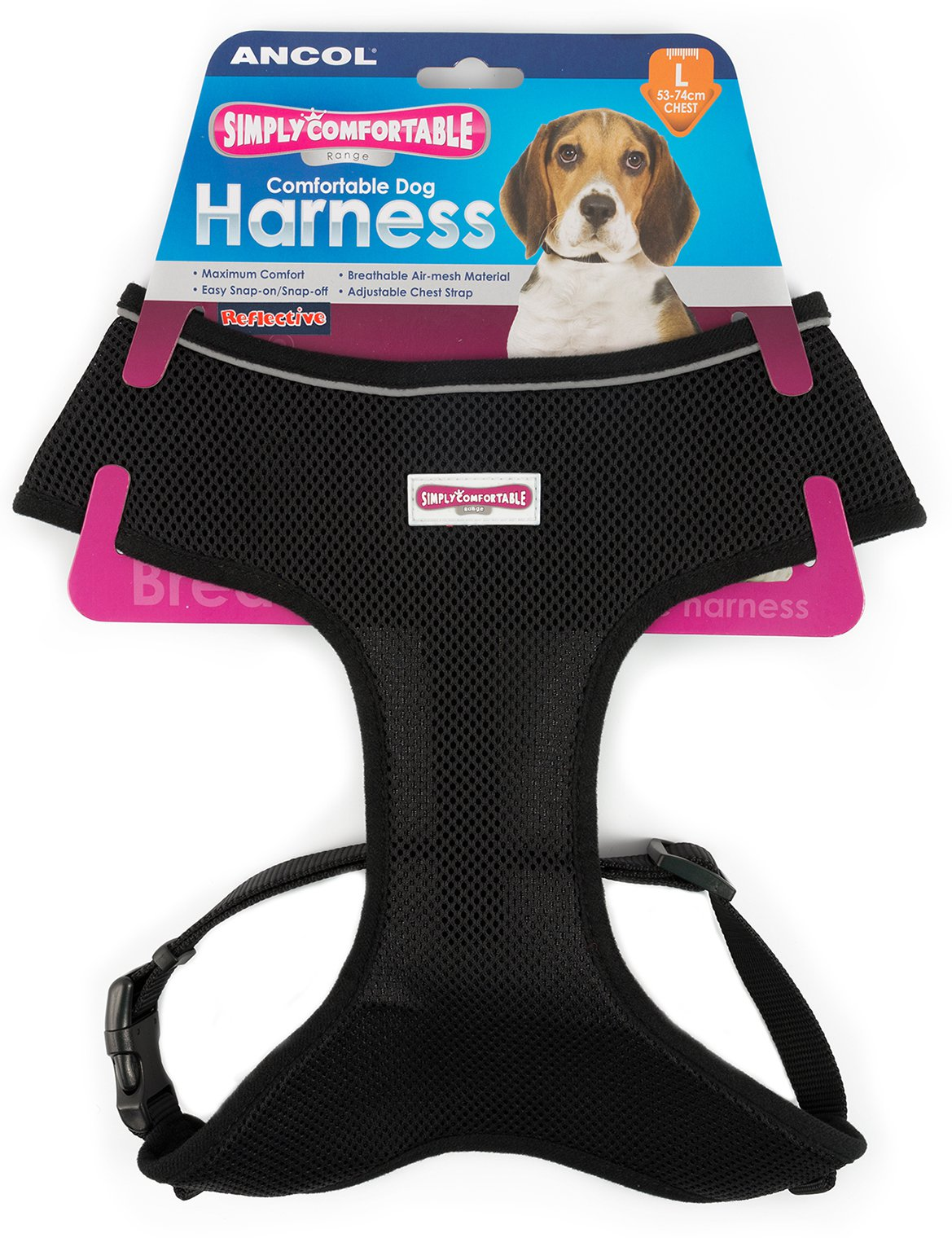 beast wh by man web made in comforter usa products dog the daydream harness comfort wolfgang