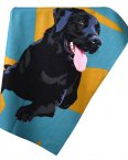 Leslie Gerry Tea Towel Labrador