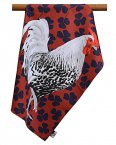 Leslie Gerry Tea Towel Rooster