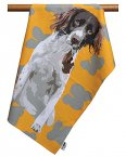 Leslie Gerry Tea Towel Spaniel