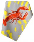 Leslie Gerry Tea Towel Lobster