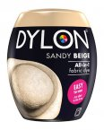 Dylon All-In-1 Fabric Dye Pod in Sandy Beige