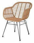 Garden Trading Set of 2 Hampstead Chairs - All-Weather Bamboo