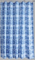 Aqualona Polyester Shower Curtain 180x180cm Seascape