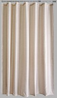 Aqualona Polyester Shower Curtain 180x180cm Natural Beige